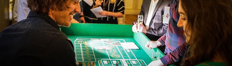 Teambuilding och mingel i aktiviteten Casinokväll