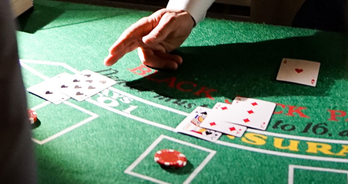 Vinnare och mingel med vår Casino-aktivitet i Stockholm