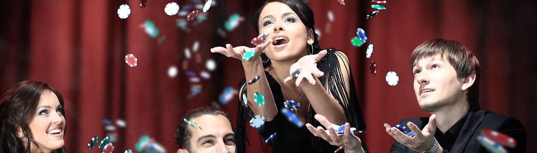 Casinokväll är en mingelaktivitet för företag i Stockholm