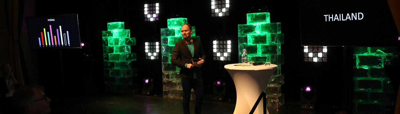 Game Show portabel konferensaktivitet i Stockholm och hela Sverige