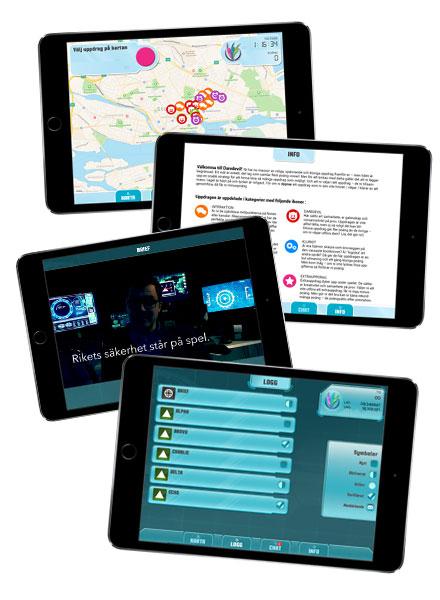 Stadsuppdraget - Gruppaktivitet för teambuilding och konferens som styrs vår flexibla iPad-app
