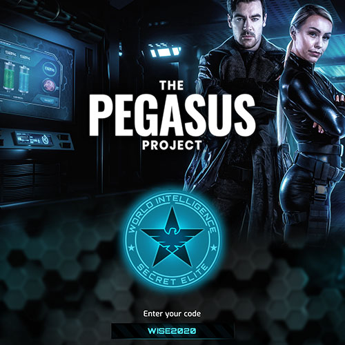 Pegasus Project - Online escape game